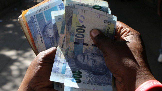 南非幣。報系資料照