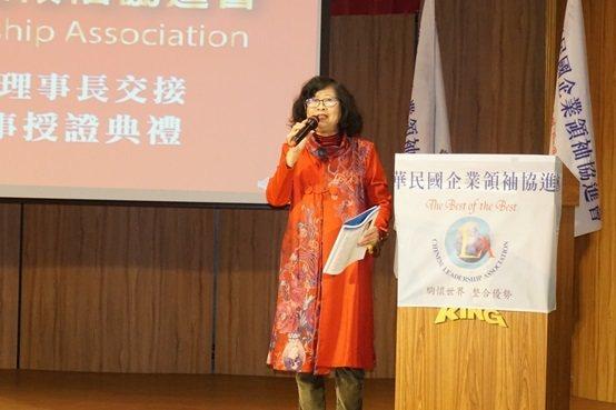 第六屆理事長姚小喬。 楊連基/攝影