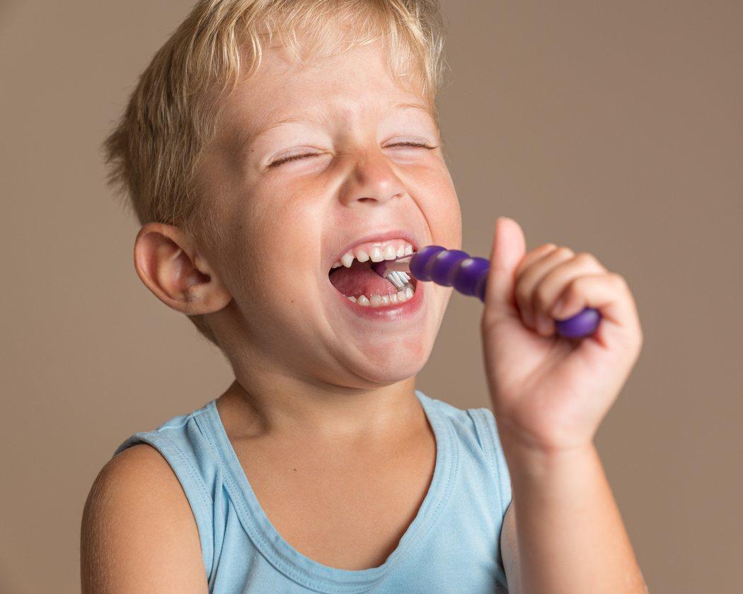 孩子萌發第一顆牙了嗎?圖/ingimage