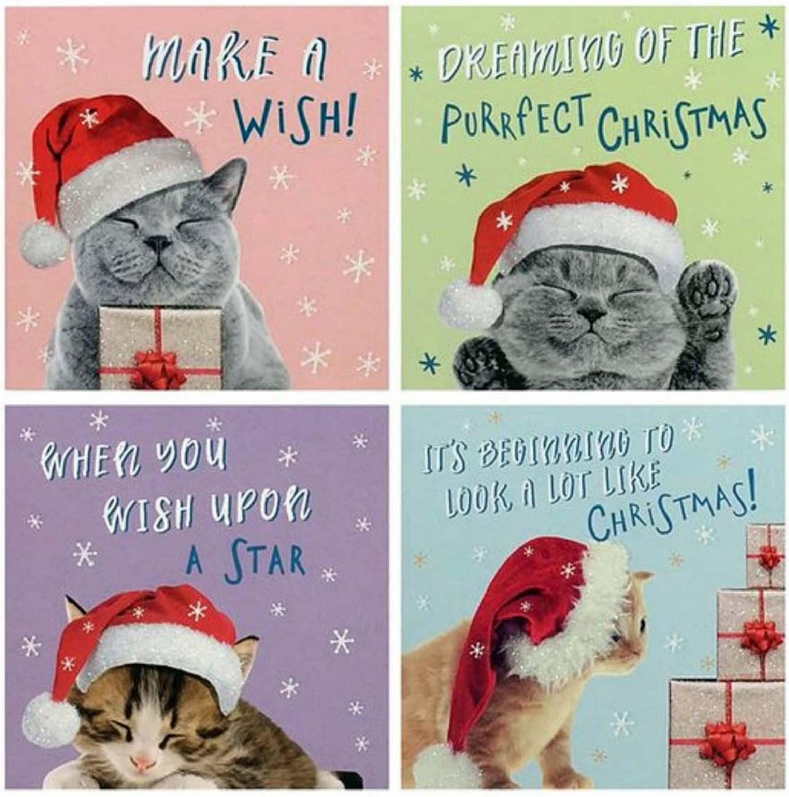這批卡片是從家裡附近的連鎖超市Tesco買來的慈善賀卡,卡片主題是一系列的「耶誕...