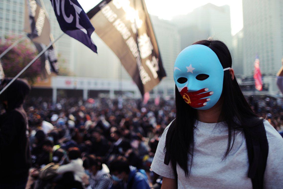 「香港人不要放棄,所有被壓迫的人民將會力撐與港人同進退!」12月22日活動,是香...