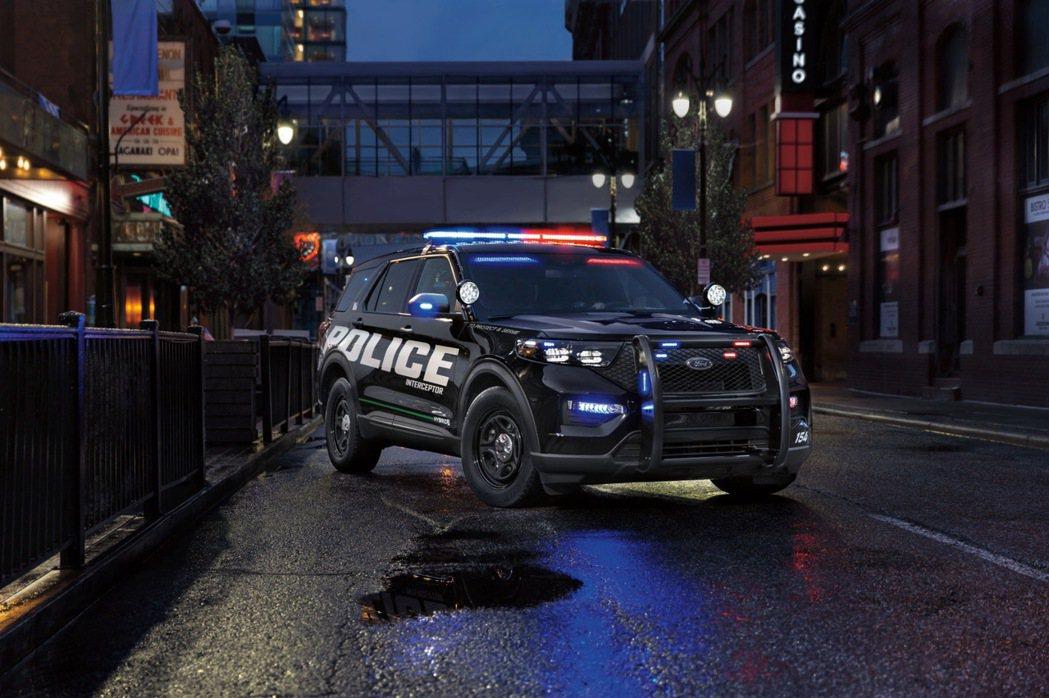 Ford空前引進Ford Explorer Police Interceptor...