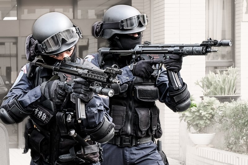 示意圖,非本文所指當事人。 圖/台中市警察局保大特勤中隊提供