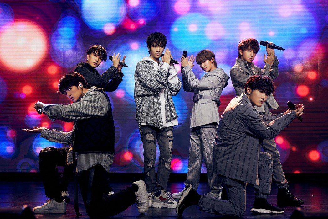 男團「C.T.O」獻唱多首歌曲。圖/創造力娛樂提供