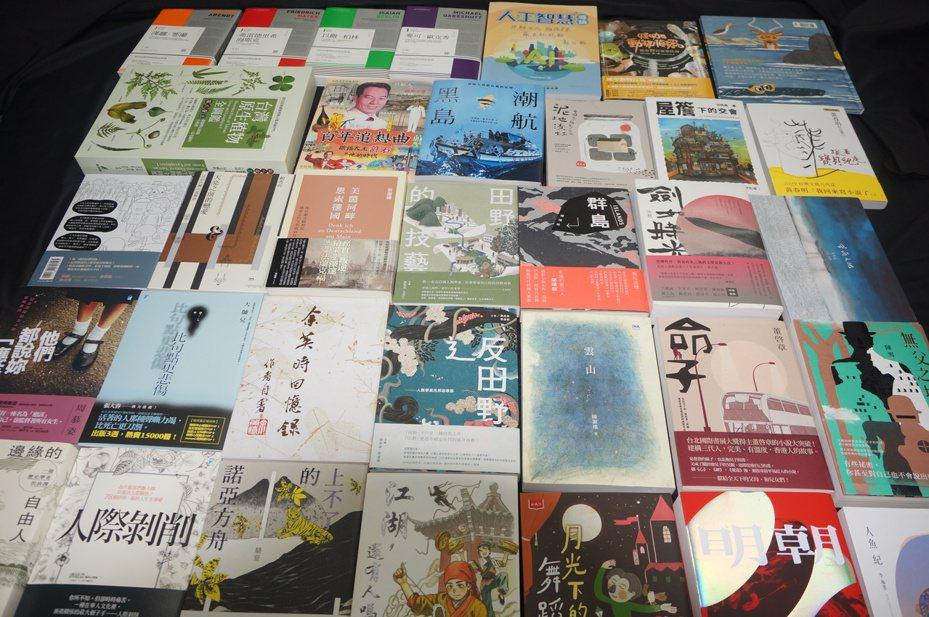 財團法人台北書展基金會公布2020台北國際書展大獎入圍名單。圖/書展基金會提供