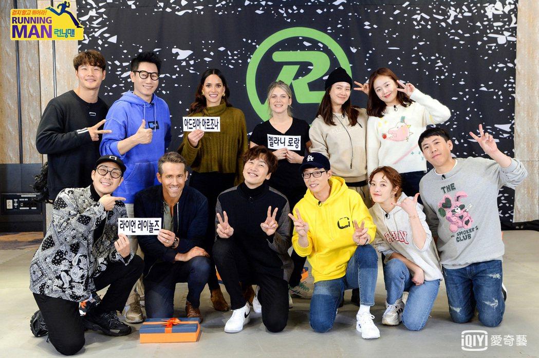 好萊塢組獲得自己的名牌。圖/愛奇藝台灣站提供