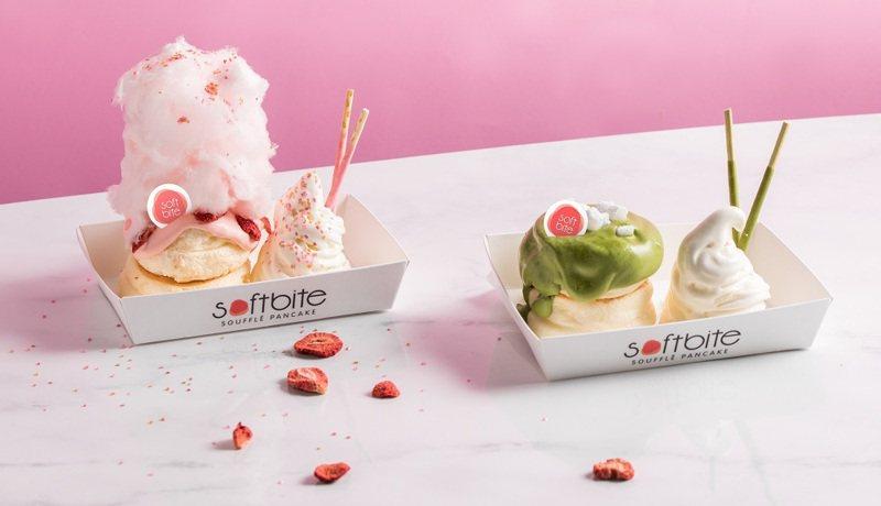 頂呱呱遠百信義店推6款限定「舒芙蕾鬆餅」,成功吸引消費者眼球。圖/頂呱呱提供