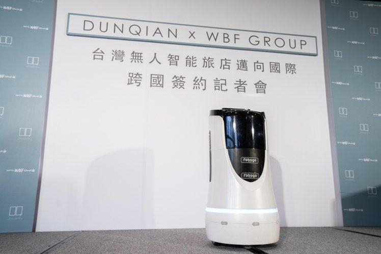 敦謙自主開發智能系統與超萌智能機器人將進軍大阪。圖/敦謙智能提供