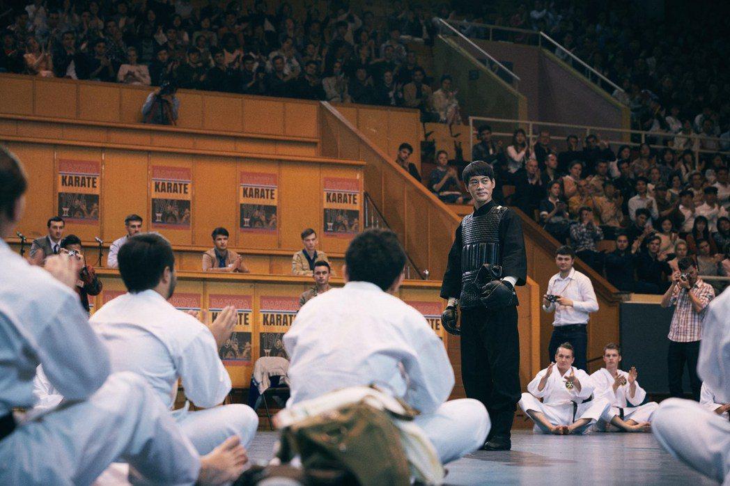 陳國坤在「葉問4:完結篇」飾演李小龍,有相當關鍵的戲份。圖/華映提供