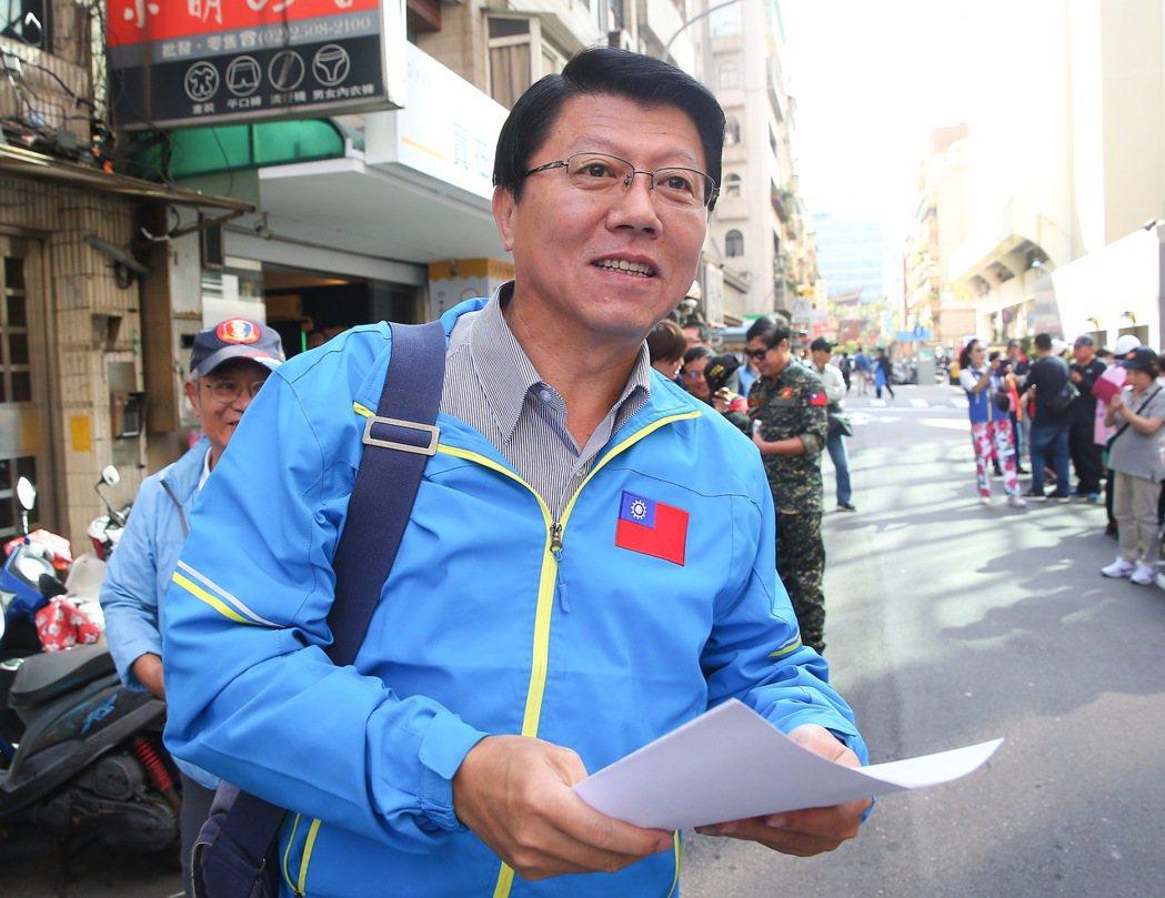 台南市議員謝龍介。 圖/聯合報系資料照片