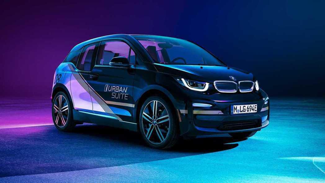 BMW i3 Urban Suite Concept。 圖/BMW提供