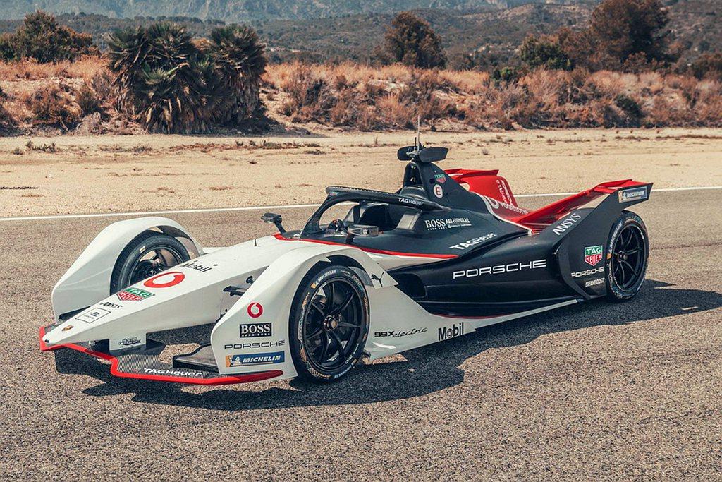 首場Diriyah ePrix賽事分站賽事,駕駛36號Porsche 99X E...