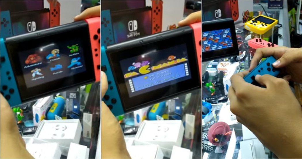 遊戲號稱內置800款遊戲,而且手把還真的可以拆解。