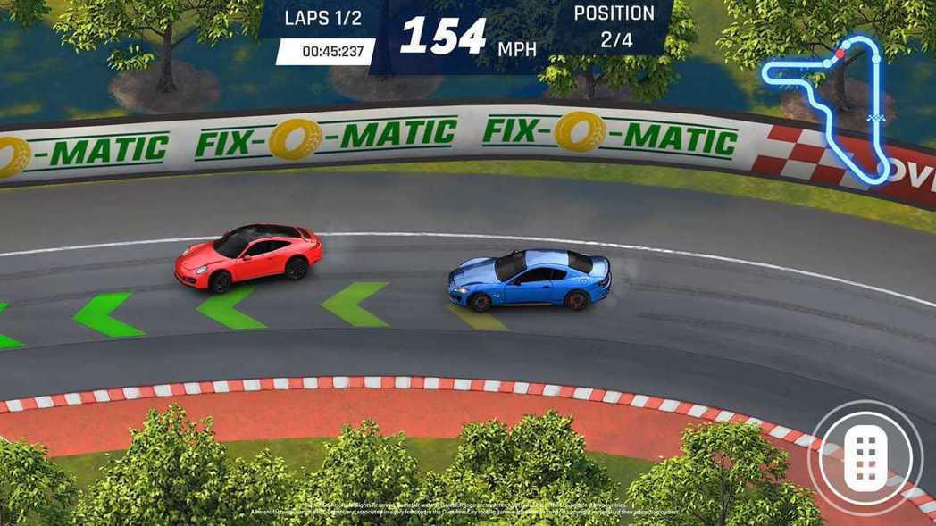 玩家可以在職業模式中挑戰對手。 圖/Gameloft提供