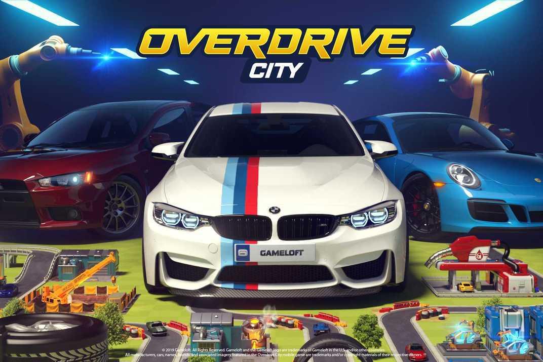 今年過年就玩這一款手遊 Overdrive City打造汽車友好城市