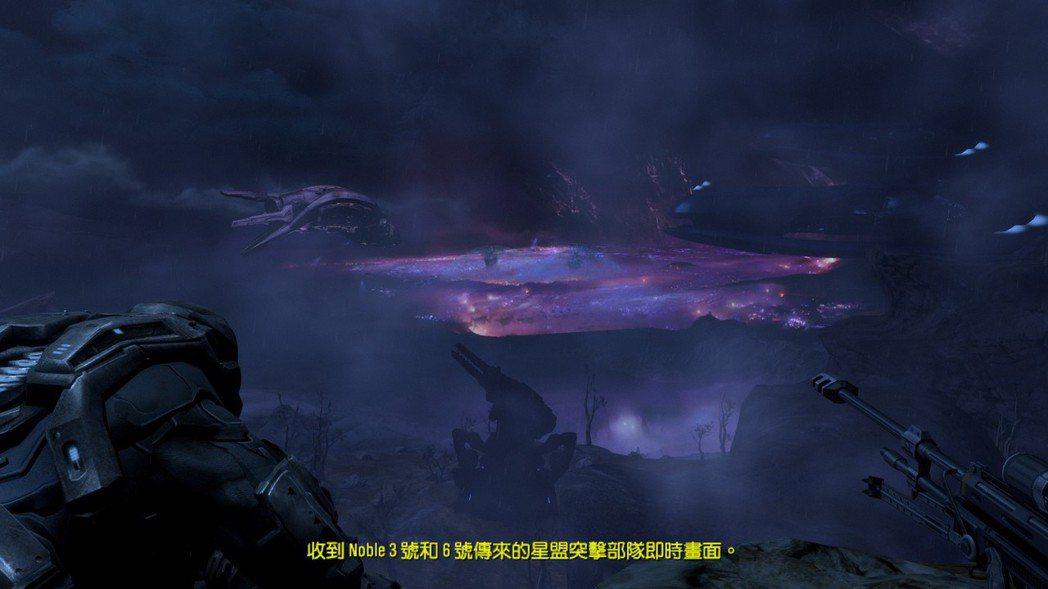 玩家與 Noble 3號一起去偵察敵情