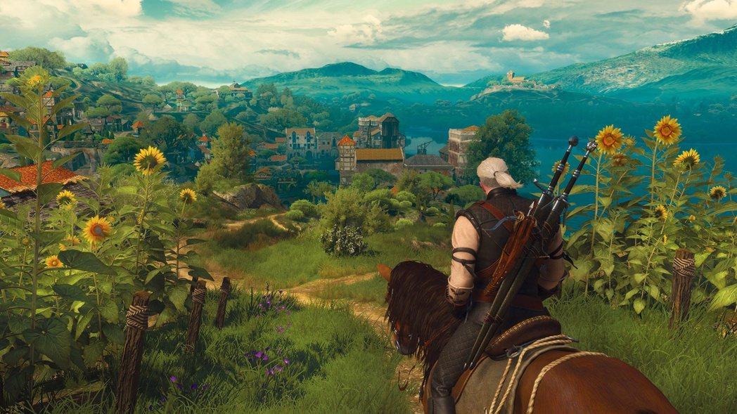 《巫師3》遊戲截圖