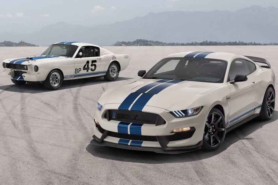 向賽道傳奇致敬 Ford推出Shelby GT350/350R Heritage Edition!