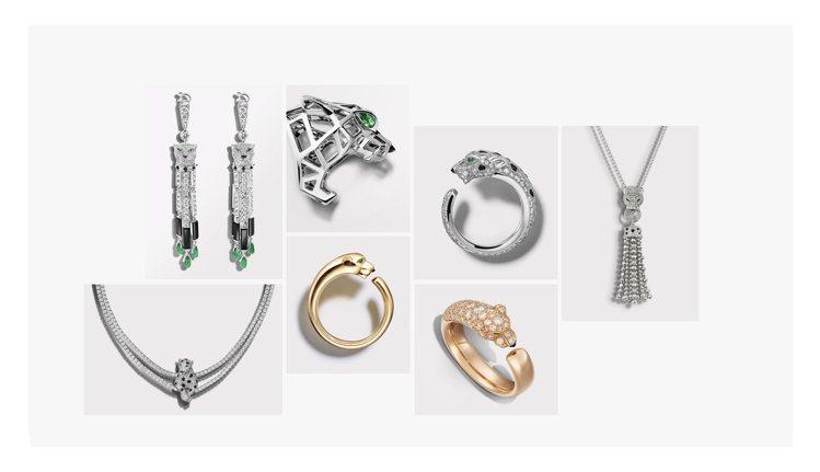 或無形、或具象,美洲豹豐潤了卡地亞的珠寶腕表世界,自成一方美景。圖 / Cart...