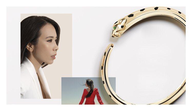 美洲豹的精神,也可體現在品牌大使如莫文蔚身上。圖 / Cartier提供。