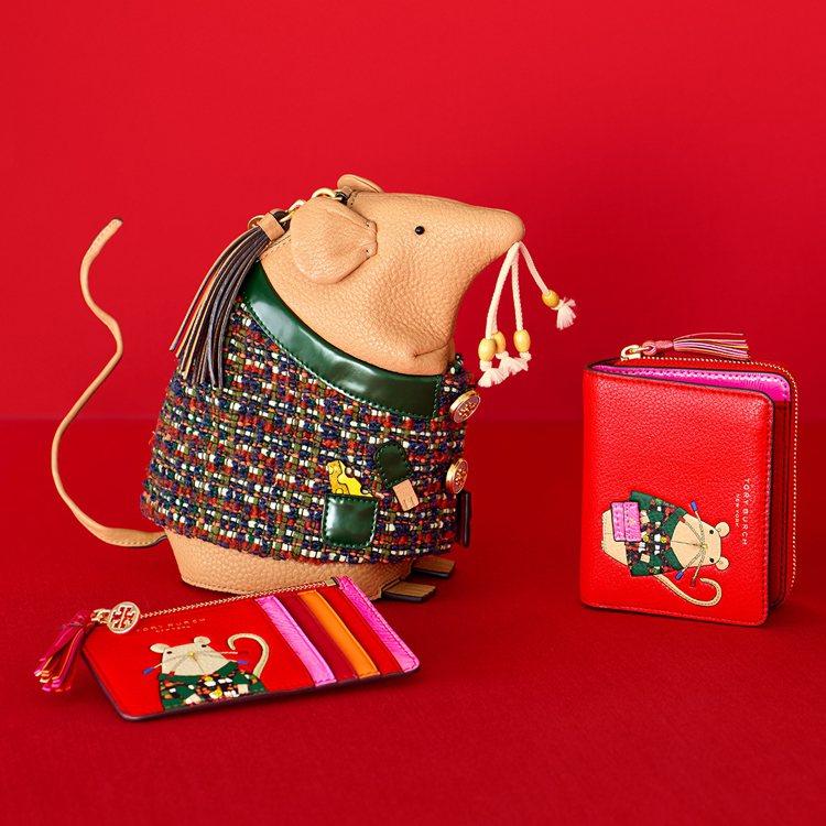 Tory Burch以帶財的錢鼠為題,創造出名為Rita(麗塔)的小老鼠推出各種...
