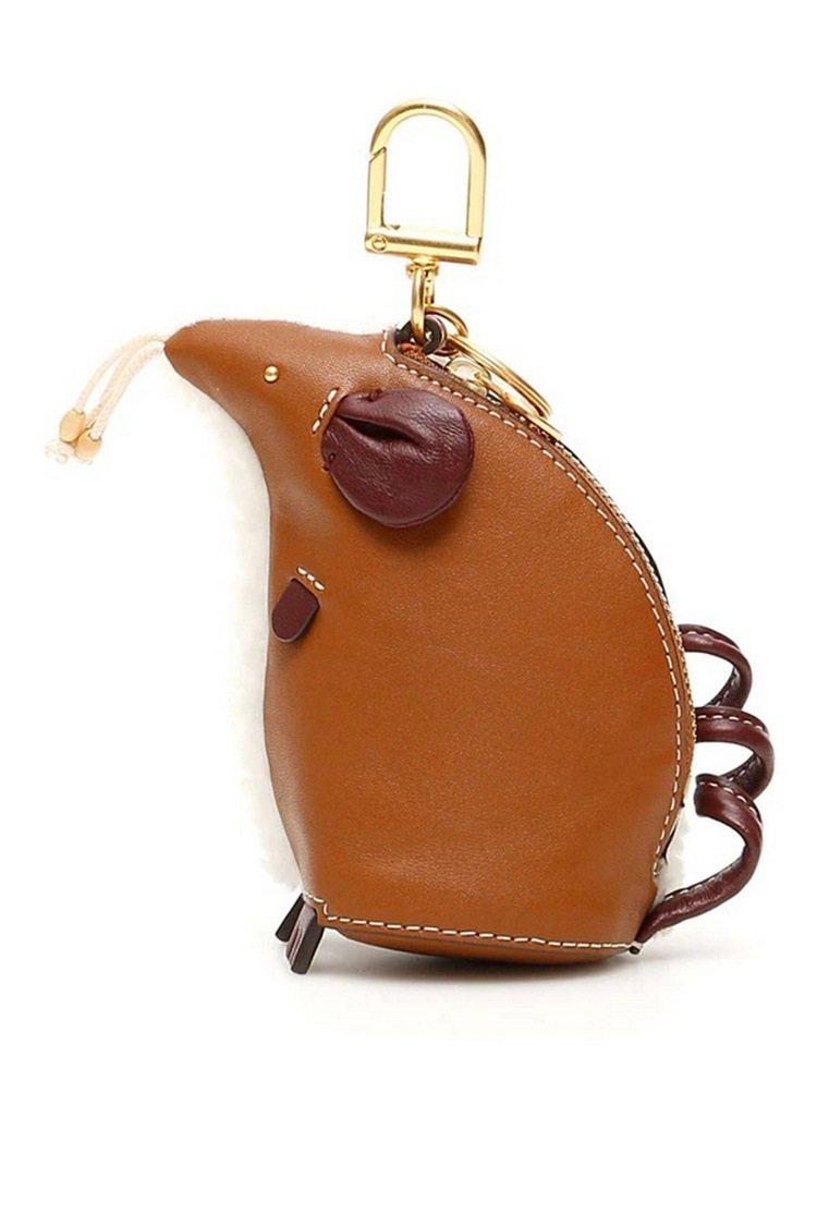 Rita鼠鑰匙包(牛皮面),8,690元。圖/Tory Burch提供