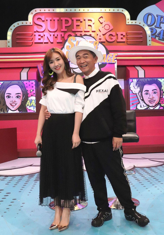 吳宗憲(右)的主持風格頗受歡迎。圖/ LiTV線上影視提供