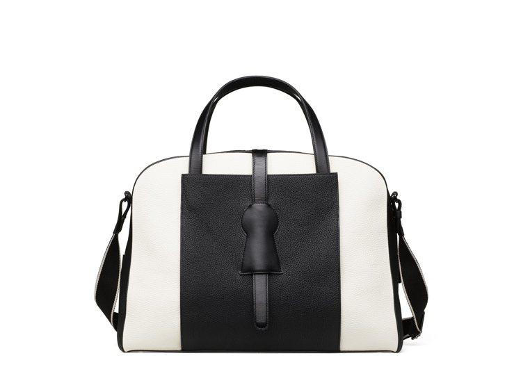 Magritte系列D-Off男仕牛皮旅行袋,售價14萬7,100元。圖/DEL...