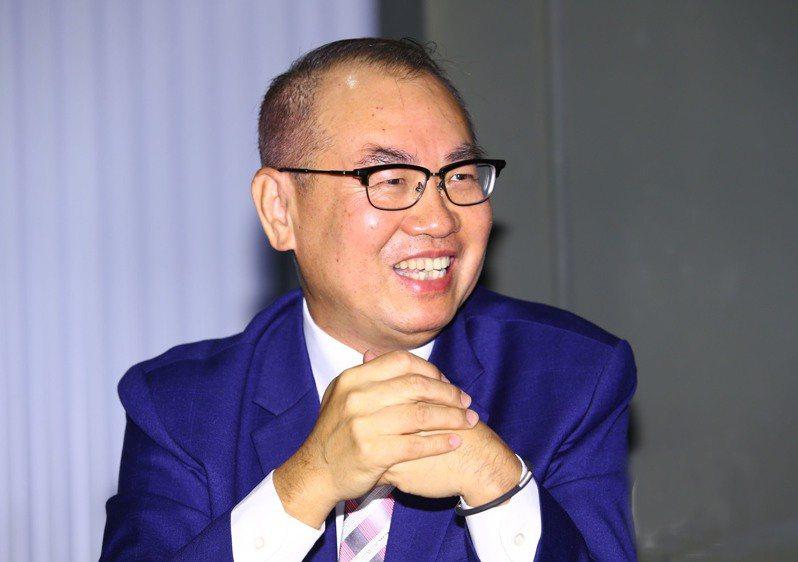 台灣彩券公司總經理蔡國基。記者杜建重/攝影