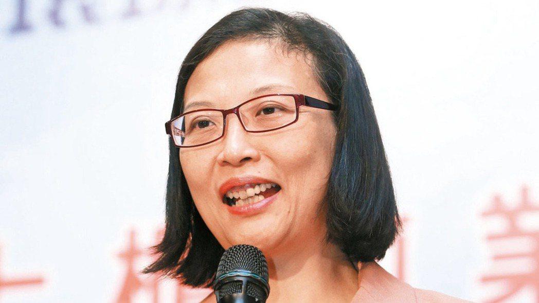 環球晶董事長徐秀蘭 報系資料照