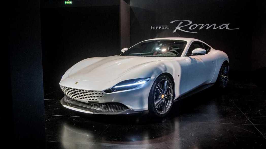 Ferrari全新2+2 GT跑車Roma。 圖/摘自motor1.com