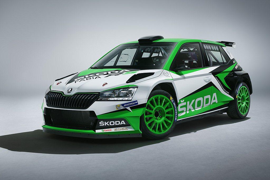 Skoda Fabia R5不僅於WRC 2組別賽事連續奪冠,今年也將現身202...
