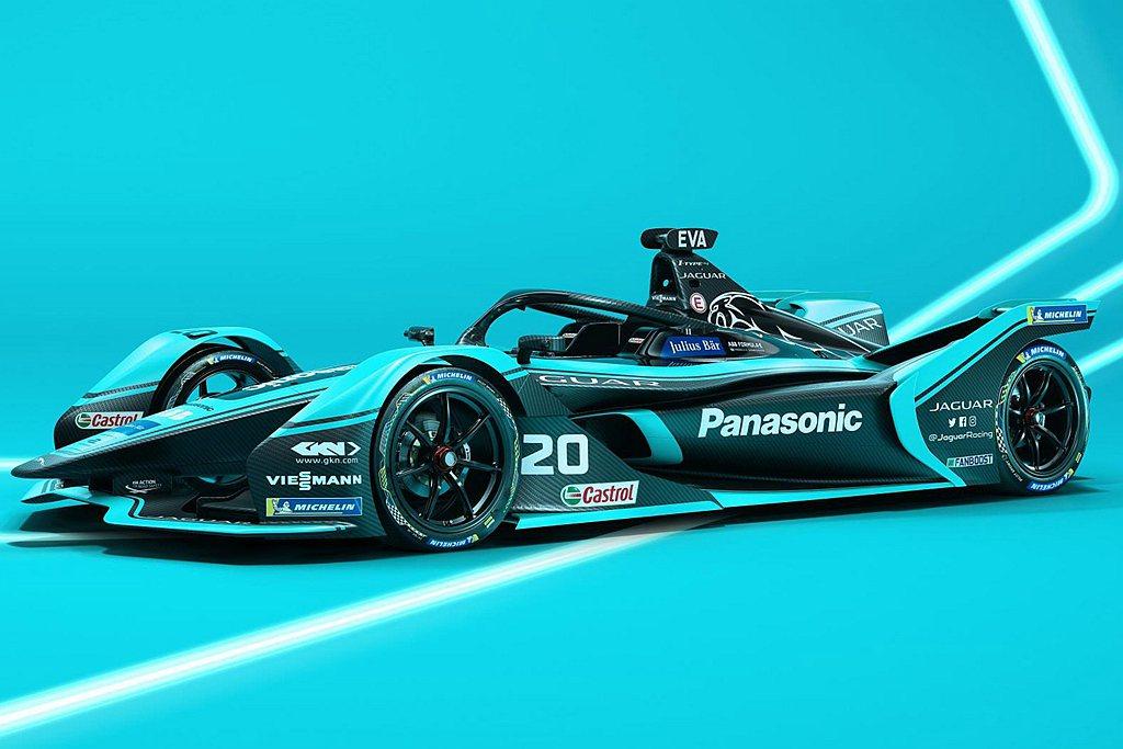 還有已經征戰多年的Panasonic Jaguar Racing I-Type賽...