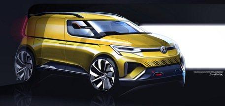 預約明年二月發表 新世代Volkswagen Caddy首波預告圖釋出!