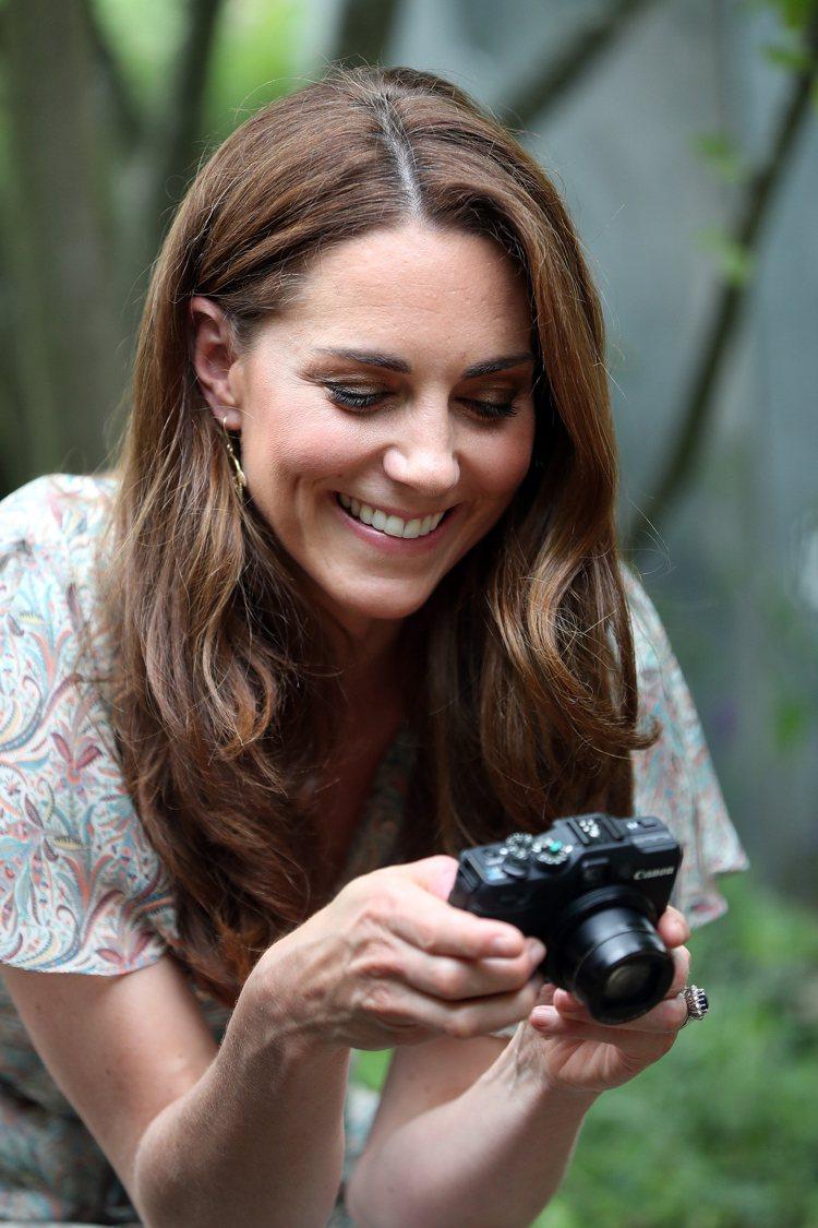 凱特王妃熱愛攝影。圖/達志影像
