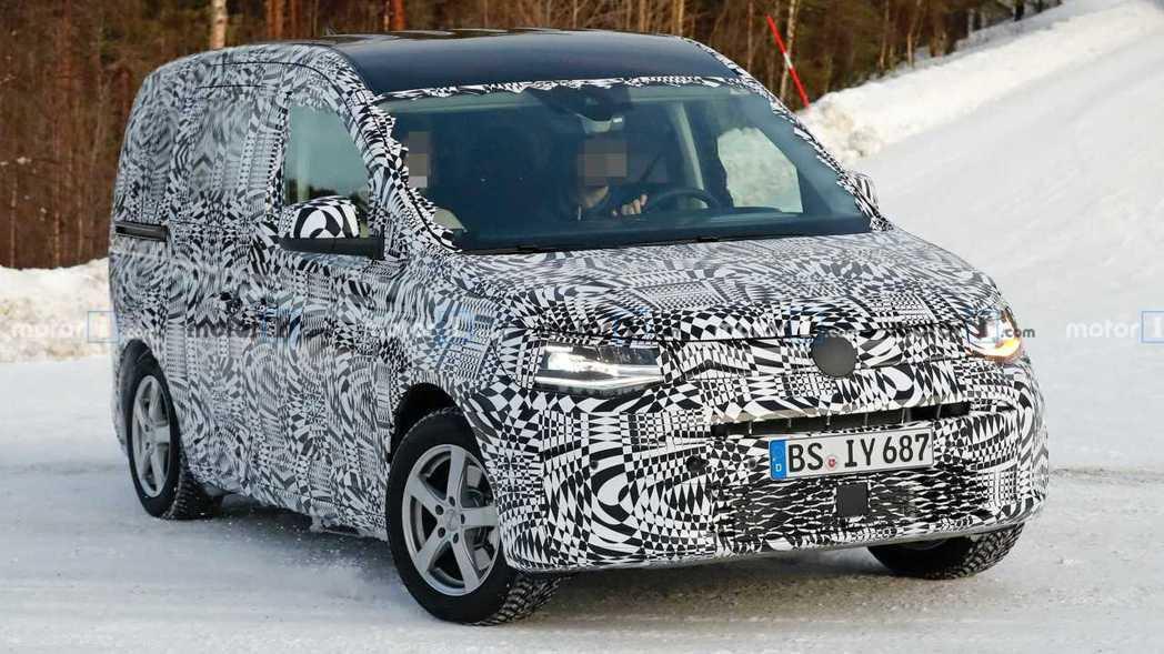 新世代Volkswagen Caddy將搭載MQB模組化底盤。 摘自Motor ...