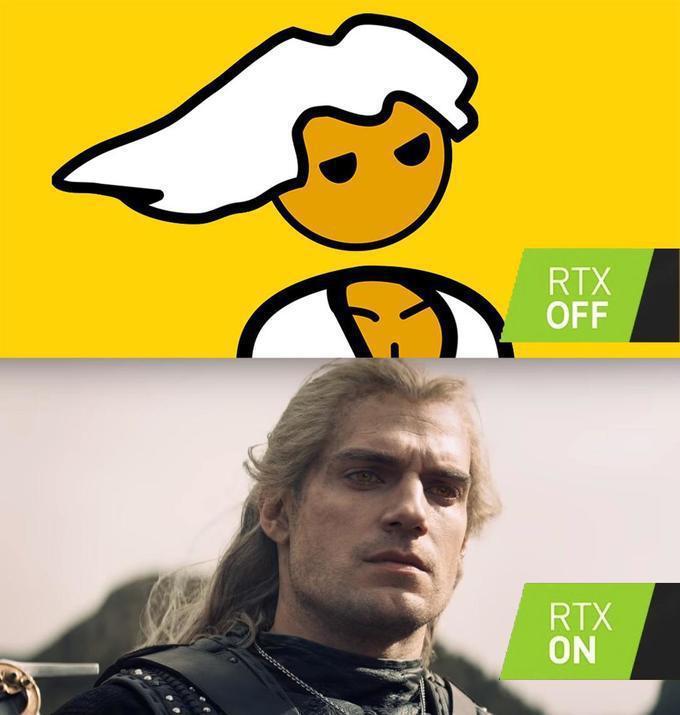 上面為光榮的PC玩家優等民族meme的標誌性角色,下面不用說就是亨利卡維爾在《獵...
