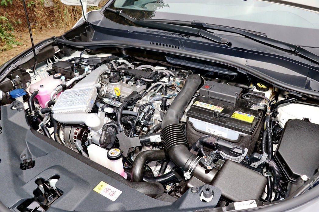 1.2L渦輪增壓引擎擁有116ps及18.9kgm的輸出。 記者陳威任/攝影