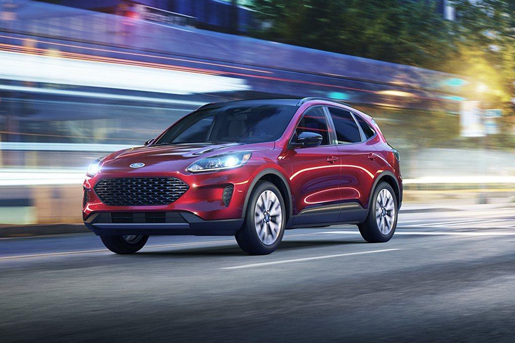 全新Ford Escape備妥多種節能動力可選,Hybrid複合動力系統美規油耗...