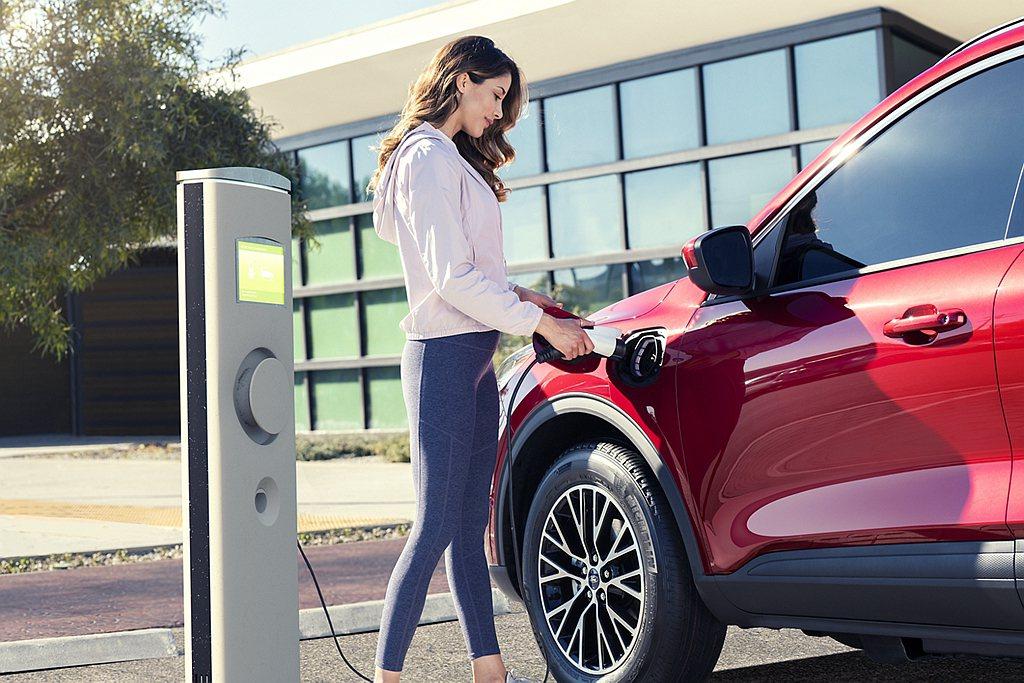 更省油且純電行駛距離更遠的Ford Escape Plug-In Hybrid預...