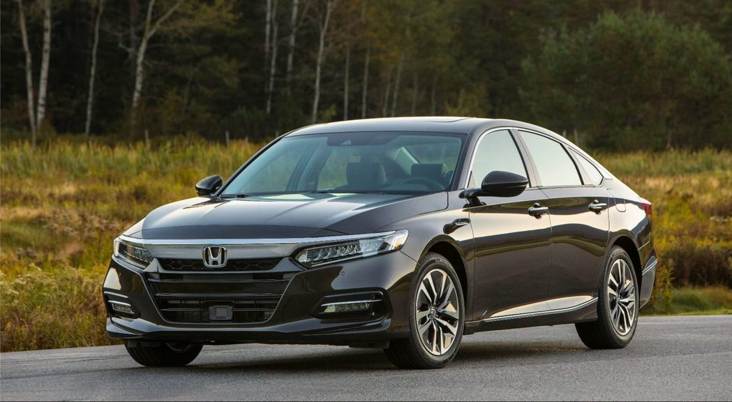 Honda Accord Hybrid。 圖/Honda提供