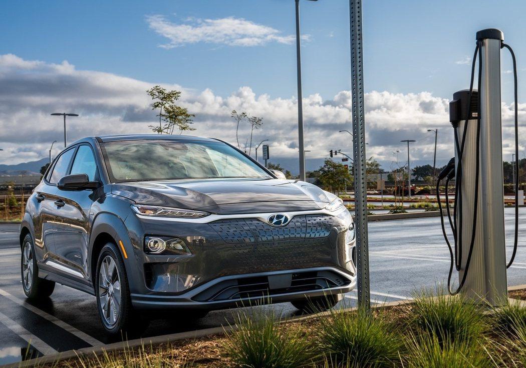 Hyundai Kona EV。 圖/Hyundai提供