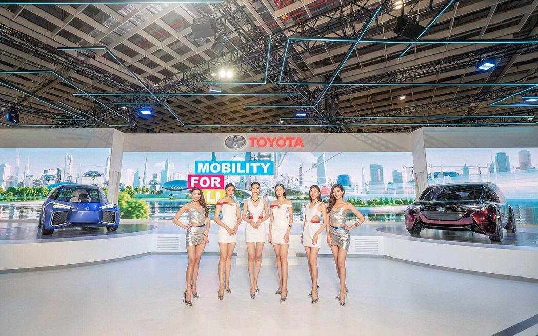 TOYOTA在2020世界新車大展打造未來城市移動樣貌。 圖/和泰汽車提供
