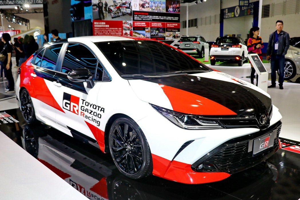GR品牌概念車全球首演–Corolla Altis GR Concept。 記者...