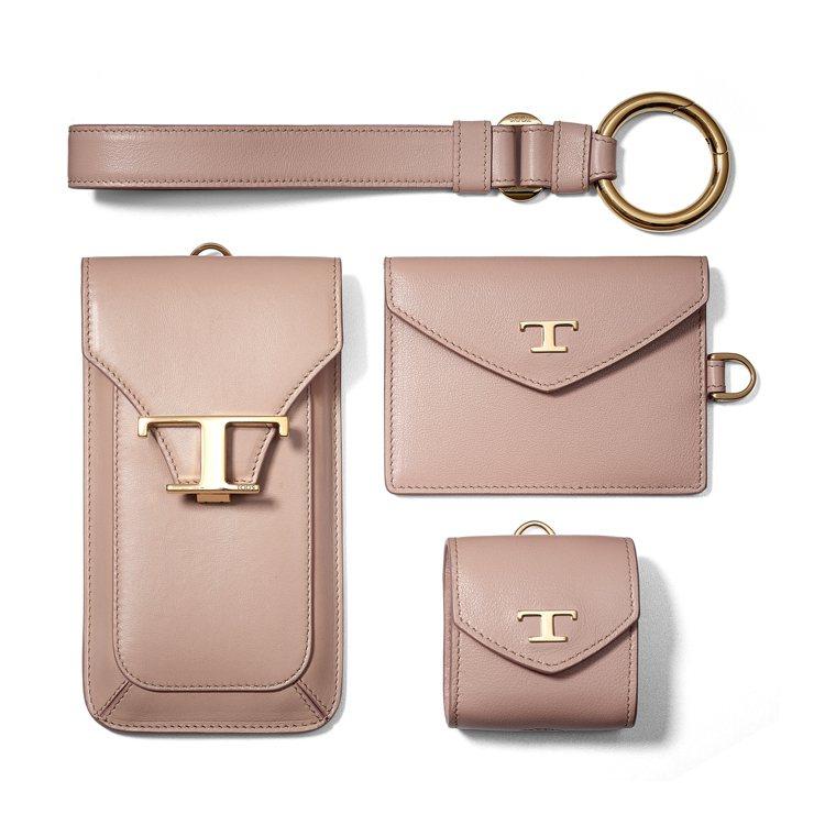 TOD'S推出一系列裸粉色單品。圖/迪生提供