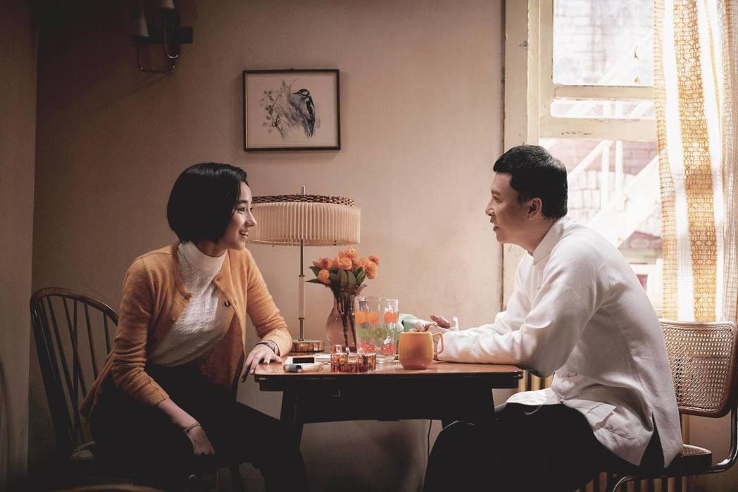 李宛妲與甄子丹在「葉問4:完結篇」有好幾場對手戲。圖/華映提供