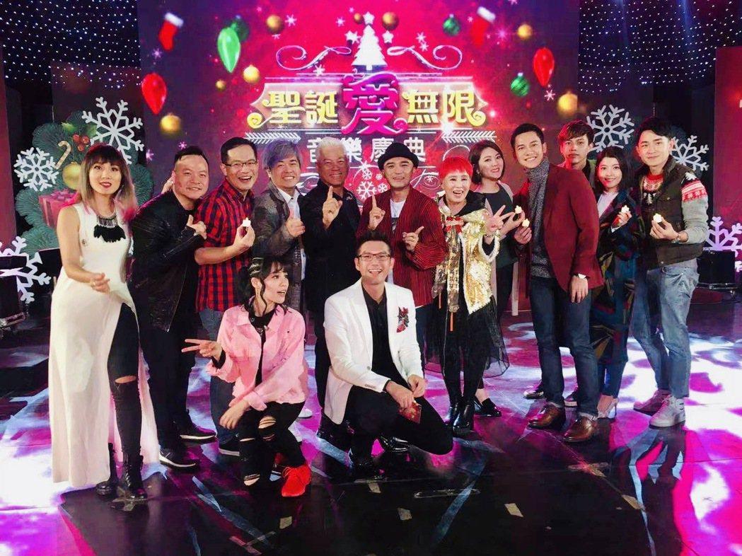 小馬昨參加「聖誕愛無限」演出。圖/馬米娛樂提供