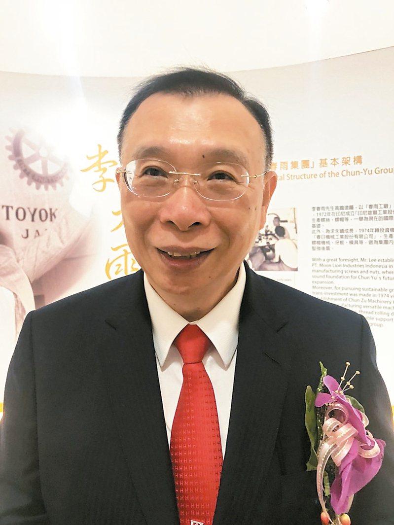 台灣鋼鐵集團會長謝裕民 聯合報記者林政鋒/攝影