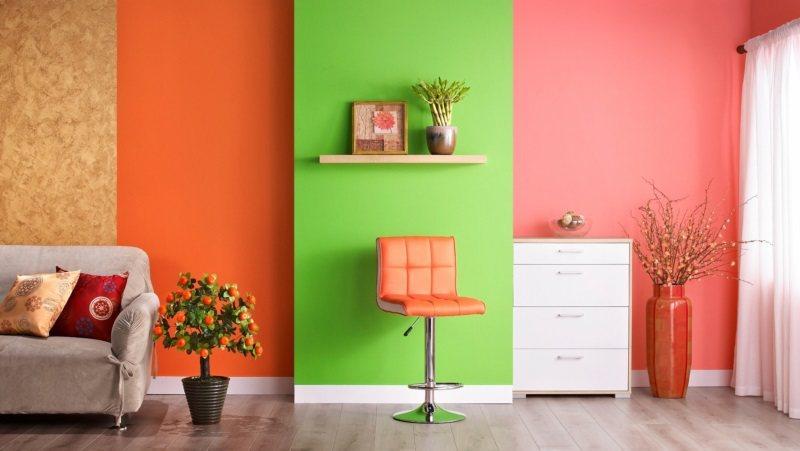 挑選特定空間DIY小粉刷,讓家煥然一新。 圖/特力屋提供
