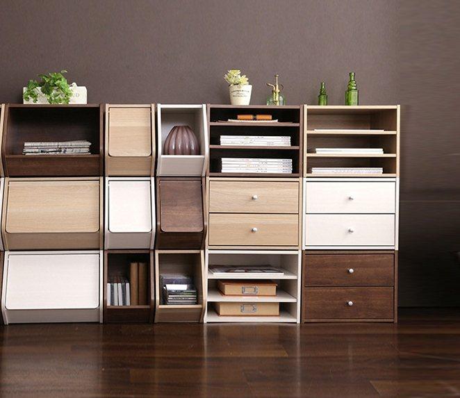 DIY收納家具,讓家更整潔。 圖/特力屋提供